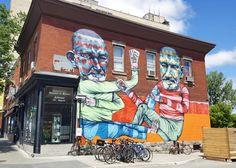 Mural Festival 2016 – All the creations from the street art festival of Montreal (image) Festival 2016, Art Festival, Graffiti, Street Art, Of Montreal, Outdoor Art, Public Art, All Art, Places To Go