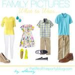 What to Wear Wednesday: Family Pictures {Spring Looks} - The Life of the Party