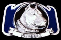 Pit Bull Guard Dog House Pet Animal Canine Belt Buckle Boucle de Ceintures Chien #pitbull #dog #guarddog #beltbuckle