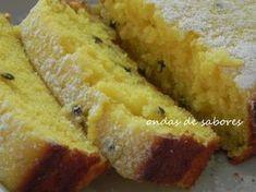 Para o seu café da tarde, este Bolo Inglês com Maracujá é tuuuudo ! A idéia era fazer um bolo bem simples, basicão, mas com sabor de mara...