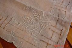 Vintage Dainty Embroidered Ladies Hankie by MellyMcBlueTreasures, $4.95