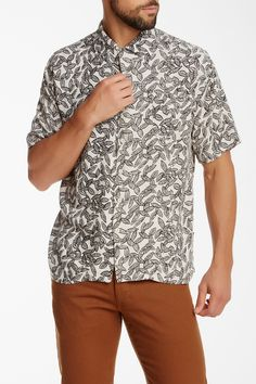 Brixton Griffin Short Sleeve Pocket Shirt on HauteLook