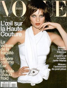 Kate Moss by Mario Testino Vogue Paris March 1999
