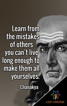"Chanakya quotes are the selected saying of the great Chanakya who is extremely popular in Asian community even in recent times due to ""Chanakya Niti"". Chankya Quotes Hindi, Words Quotes, Quotes By Famous People, People Quotes, Good Life Quotes, Best Quotes, Sher Shayari, Mistake Quotes, Imagination Quotes"