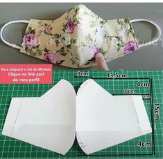 Sewing Hacks, Sewing Tutorials, Sewing Crafts, Sewing Projects, Felt Crafts Patterns, Sewing Patterns Free, Easy Face Masks, Diy Face Mask, Sewing Accessories