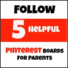 The Golden Gleam: 5 Helpful Pinterest Boards for Parents