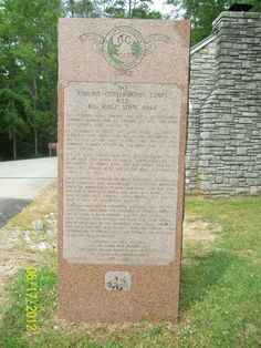 Civilian Conservation Corps and Big Ridge State Park,Maynardville Tn  photo by Marcia Thomas