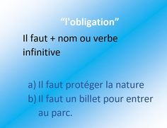 Obligation #french