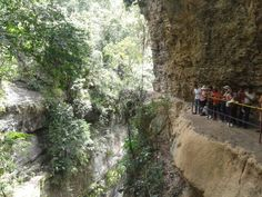 Es impresionante q este hermoso paisaje este en mi patria querida..... Colombia. Este es el puente natural de Pandi