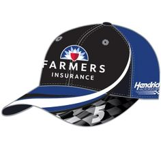 65d43d6fe56 This cap features Kasey Kahne s team colors and sponsor graphics from  Raceline Direct!