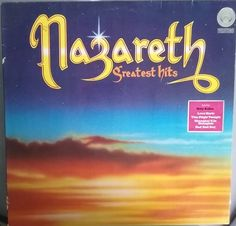 Nazareth, Greatest Hits, Vintage Record Album, Vinyl LP, Classic Rock and Roll Music, Hard Rock, Heavy Metal, Scottish Rock Band by VintageCoolRecords on Etsy