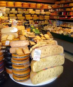 Instead of heaven, when I die, I want to go here. To a cheese shop.