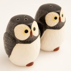 Woodland Owl Salt and Pepper Shakers from Picsity.com