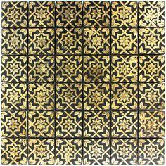Slate Porcelain Mosaic Tiles Beatgold - 1 Sheet