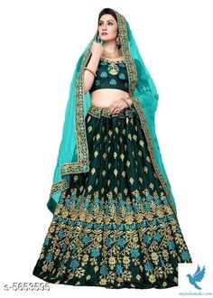- MYiNDiAMAKE Lengha Choli, Lehenga Choli Online, Silk Lehenga, Indian Bridal Lehenga, Party Wear Lehenga, Classy Women, Wordpress, Satin, Womens Fashion