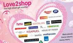 Win a £30 Love2Shop High Street Gift Voucher!  Its accepted at more than 85 leading high street retailers in the UK including Argos, Toys R Us, Debenhams, Boots, and Mothercare to name a few.  #competition #competitions #win