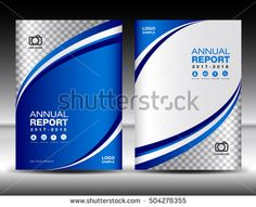 Blue Cover template, cover annual report, cover design business brochure flyer, magazine covers, book cover presentation