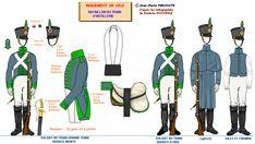 Traino d'artiglieria a piedi truppa 1812