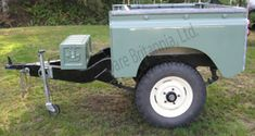 building a trailer tub land rover - Google Search