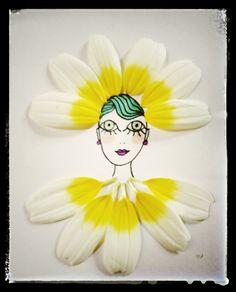Make pretty flower creatures... Meet Daisy Fairy
