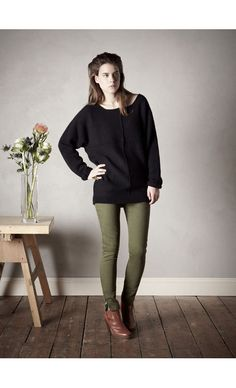 COLLECTION FEMME > PULLS > Pankauw : L'herbe Rouge