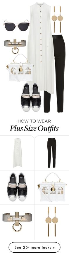 """Untitled #896"" by p-a-n-d-0-r-a on Polyvore featuring Lanvin, Mat, Dolce&Gabbana, Fendi, Givenchy and Isabel Marant"