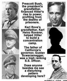 Hitler and Republicans Luftwaffe, Illuminati, Bush Family, John Kerry, Conspiracy Theories, History Facts, Strange History, Dios, Historia
