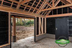 Shed Design, Pergola, Garage Doors, Cottage, Outdoor Structures, Outdoor Decor, Home Decor, Decoration Home, Room Decor