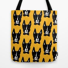 Women Crazy Boston Terrier Handbag Handle Ribbon,Twill Skinny Scarf
