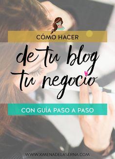 Te dispones a crear un blog para hacer de él tu negocio. Después de meses (o años!) no consigues nada. ¡Tu blog no es tu negocio! Aprende cómo hacerlo