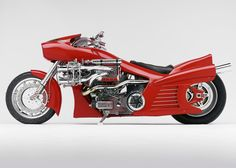 Ferrari Bike | Designer: Arlen Ness