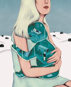 ANDREA WAN via Illustration Addict