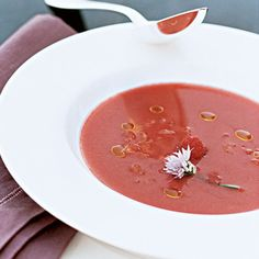 Day 15: Strawberry, Tomato and Fennel Gazpacho    | Food & Wine