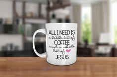 Alles was ich brauche ist A Little Bit of Coffee und von JcDezigns