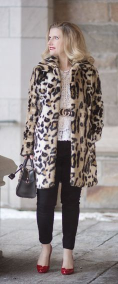 8974e4cf78e 6 Reasons Why You Need A Leopard Coat… Petite Fashion Blog ...