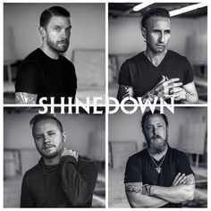 Shinedown - Threat to Survival album; www.contrastcontrol.net has great music reviews. #music #song #album #review #interview #shinedown #threattosurvival #rock
