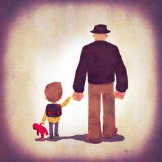 Super Families part III – 11 illustrations d'Andry Rajoelina