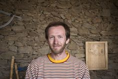 Matěj - handy carpenter and restorer, lover of his craft. Maker of proper cutting boards and wooden spoons for HNST.LY