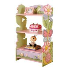 SO CUTE ONLY $114 ON SALE AT KHOLS Teamson Kids Magic Garden Bookshelf