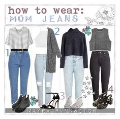 """how to wear mom jeans 
