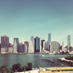 Brooklyn Heights Promenade in Brooklyn, NY