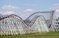 Great American Scream Machine Six Flags Over Georgia