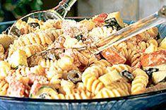 Mediterranean Pasta Salad recipe: summer food!