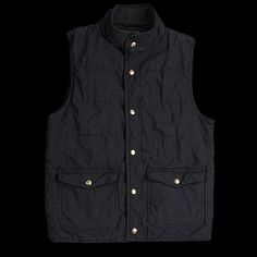 UNIONMADE - Save Khaki - Quilted Vest in Classic Navy