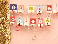 Roll-Up Christmas Advent Calendar - Mr Printables