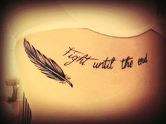 1000+ images about Tattoos on Pinterest | Never Give Up ...  Quote Tattoos On Traps
