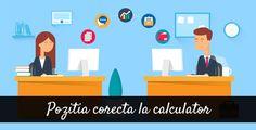 Pozitia Corecta la Calculator (video)