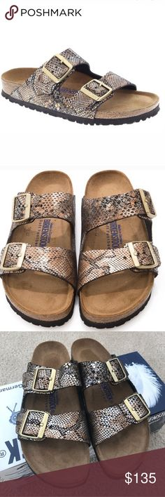 Brand new Birkenstock Arizona sandals New in box, US size 6, euro 37 Birkenstock Shoes Sandals