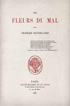 Charles Pierre Baudelaire (9 de abril de 1821 - 31 de agosto de 1867)