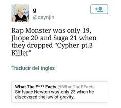 I keep forgetting Rapmon is the maknae of the rap line